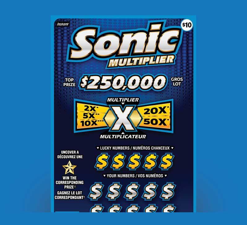 Sonic Multiplier 2190 ticket