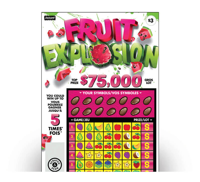 Billet Fruit Explosion 2195