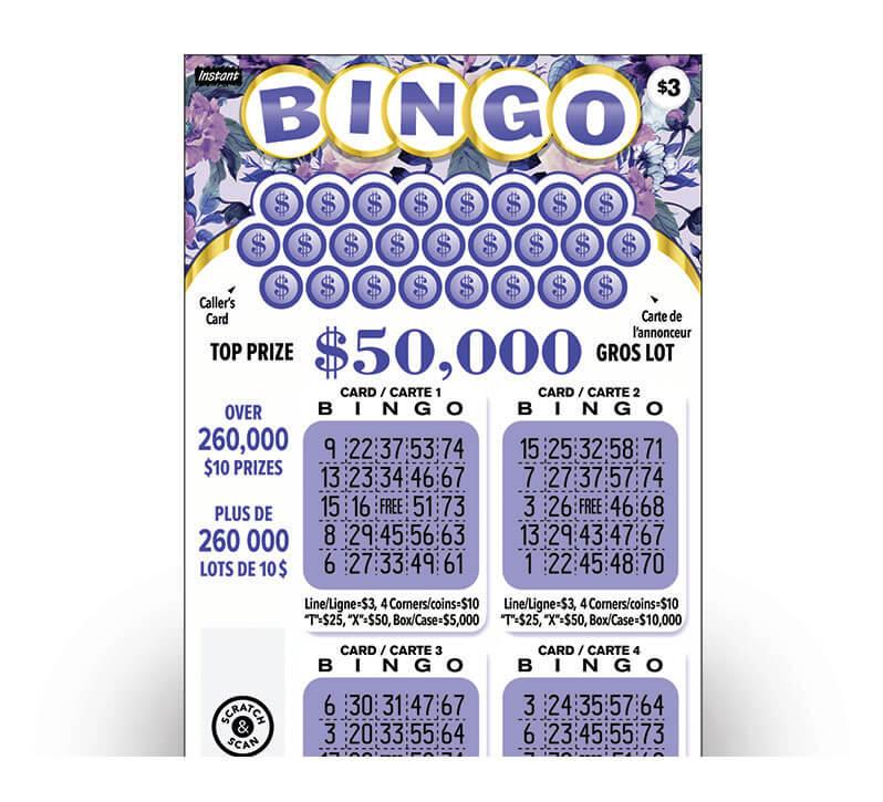 Instant Bingo 3030 ticket