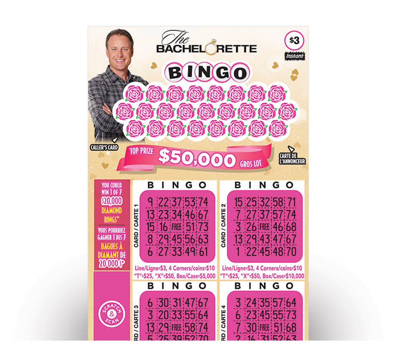 the bachelorette bingo 3031 ticket