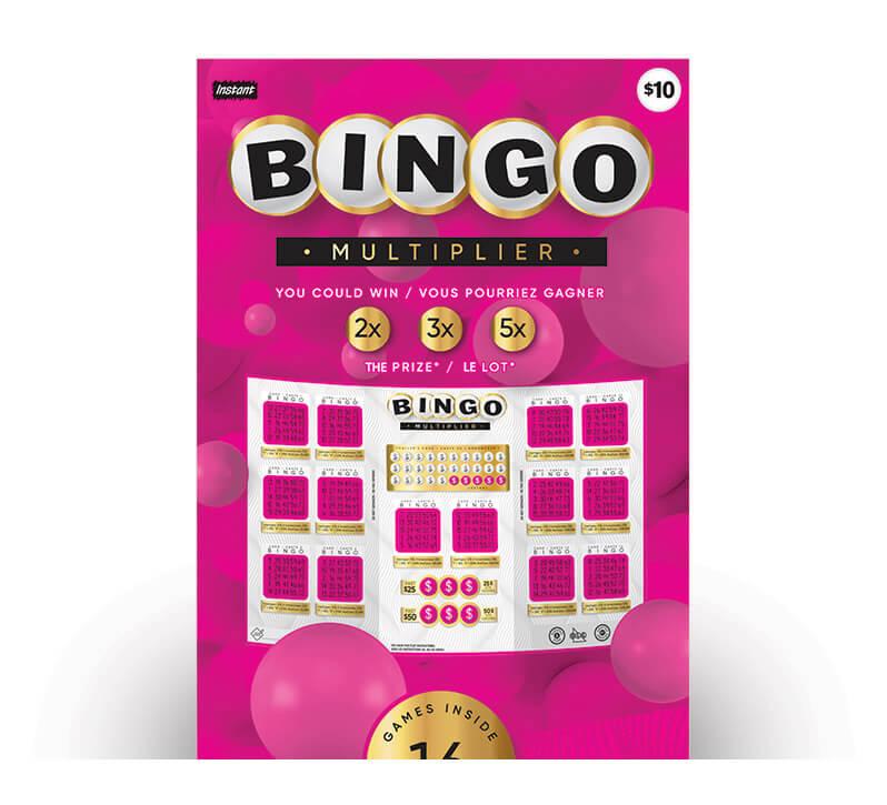 Bingo Multiplier 3070 ticket