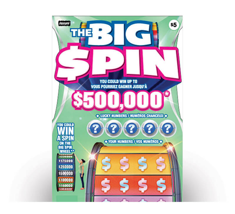 The Big Spin 3101 ticket