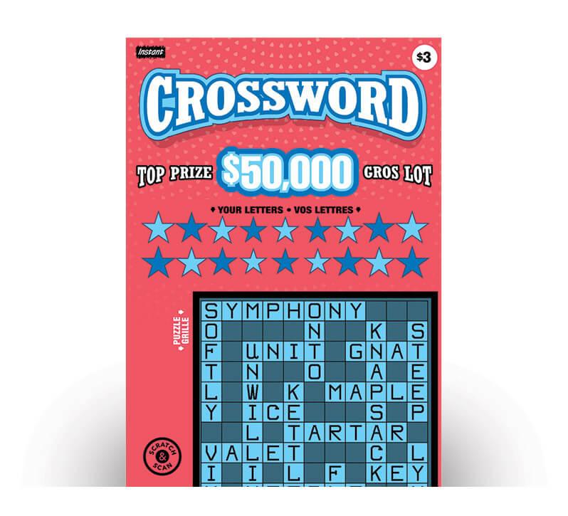 Instant Crossword 3227 ticket