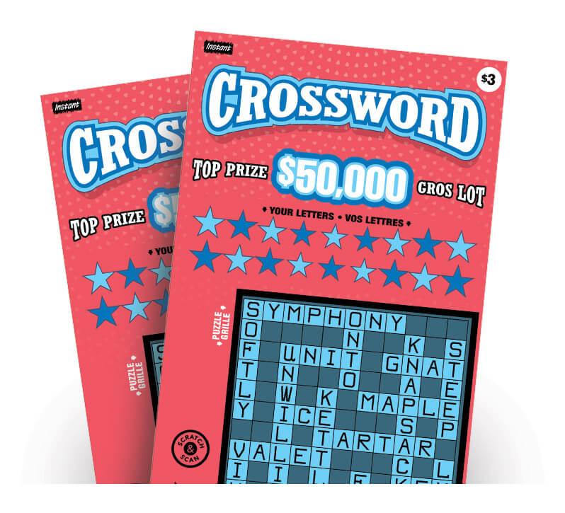 crossword gambling card crossword game gargle
