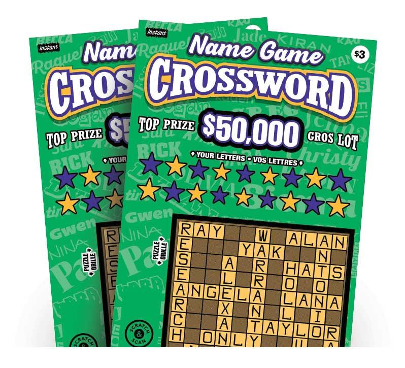Deux billets Name Game Crossword 3228