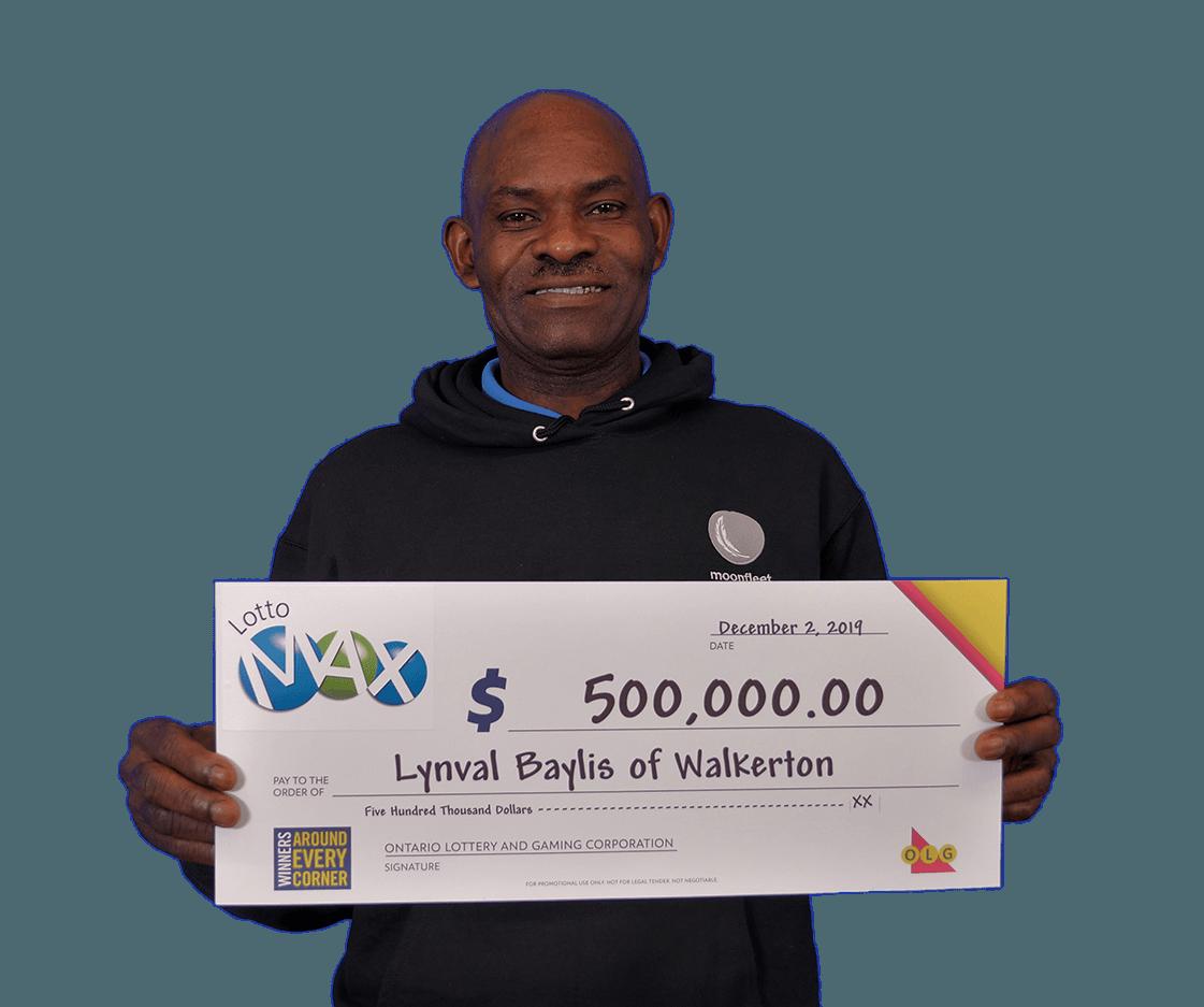 lotto max winner