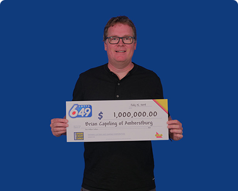 Lotto 6/49 winner