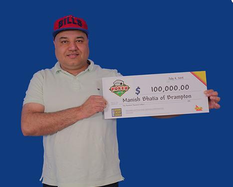 poker lotto winner