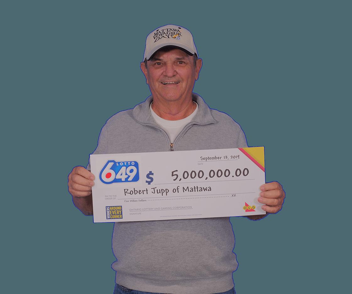 Lotto 649 winner