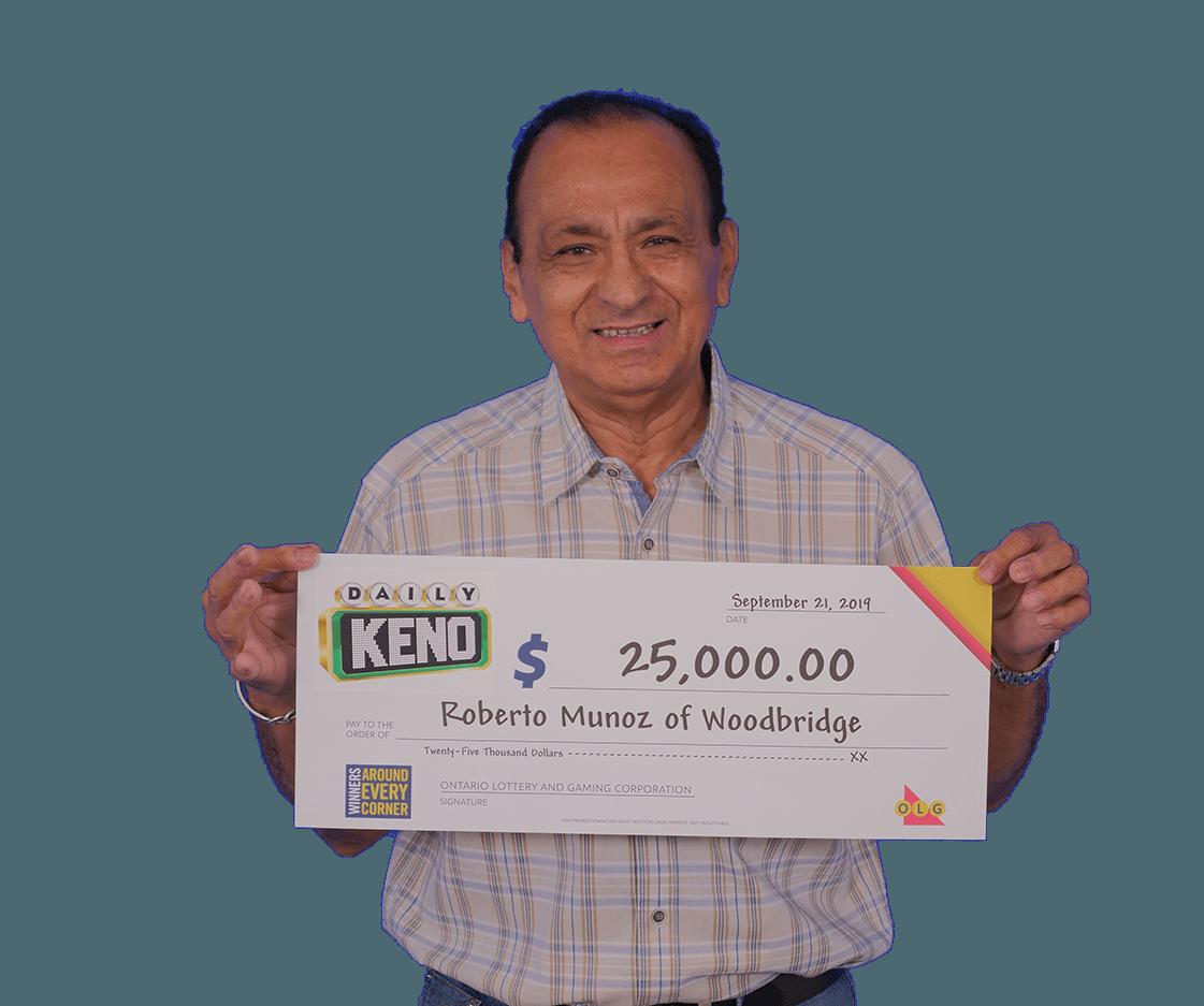 dialy keno winner