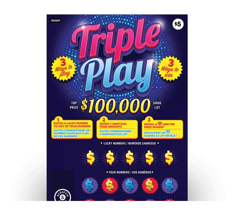 Billet Triple Play 2213