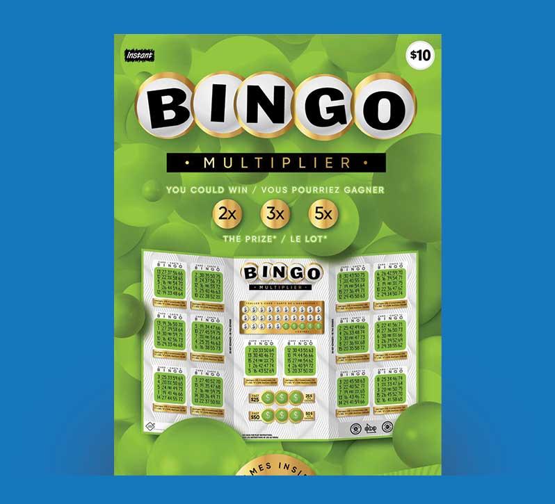Bingo Multiplier 3073 ticket