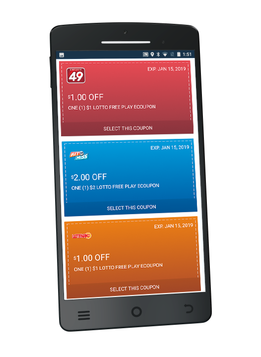 Get a Free Play Coupon when you download the OLG Lottery App and Sign Up for Winners Edge