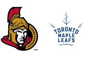 Ottawa senators toronto maple leafs