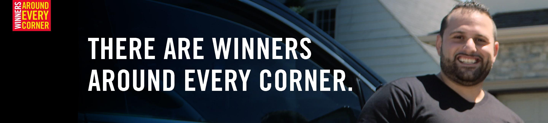 There are winners around every corner.
