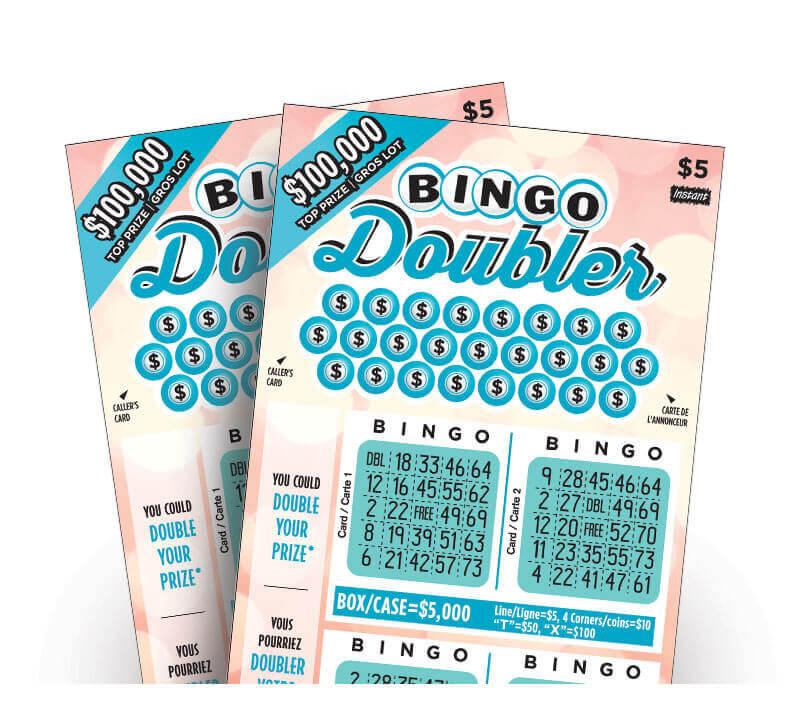 olg bingo doubler lottery tickets