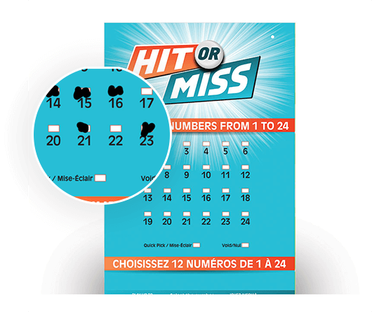 magnified hit or miss olg lottery ticket