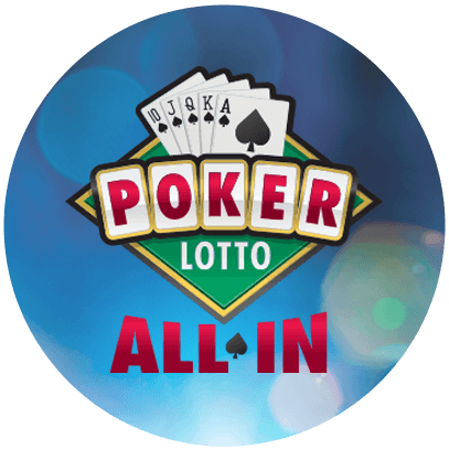 olg poker lotto logo on circular badge